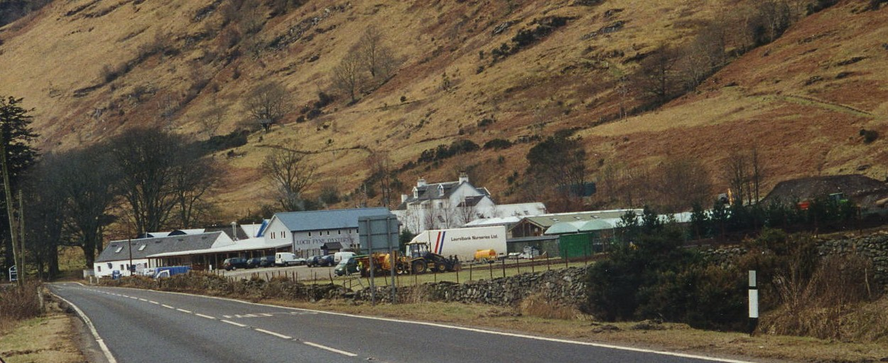 New entrance to Clachan