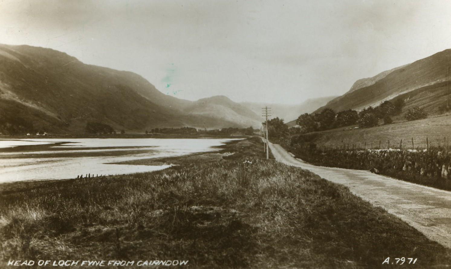 Head of Loch Fyne from Cairndow