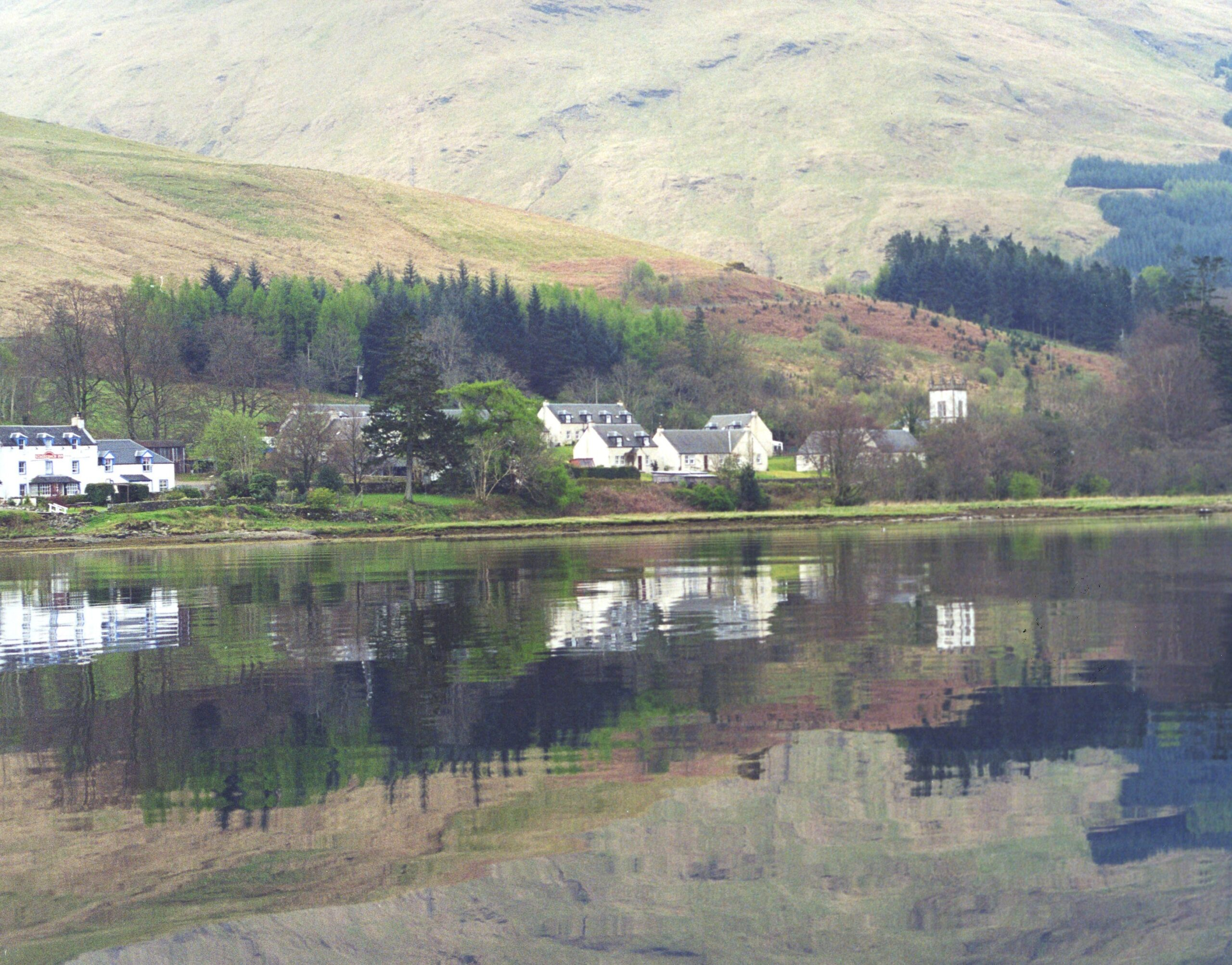 Cairndow from the loch
