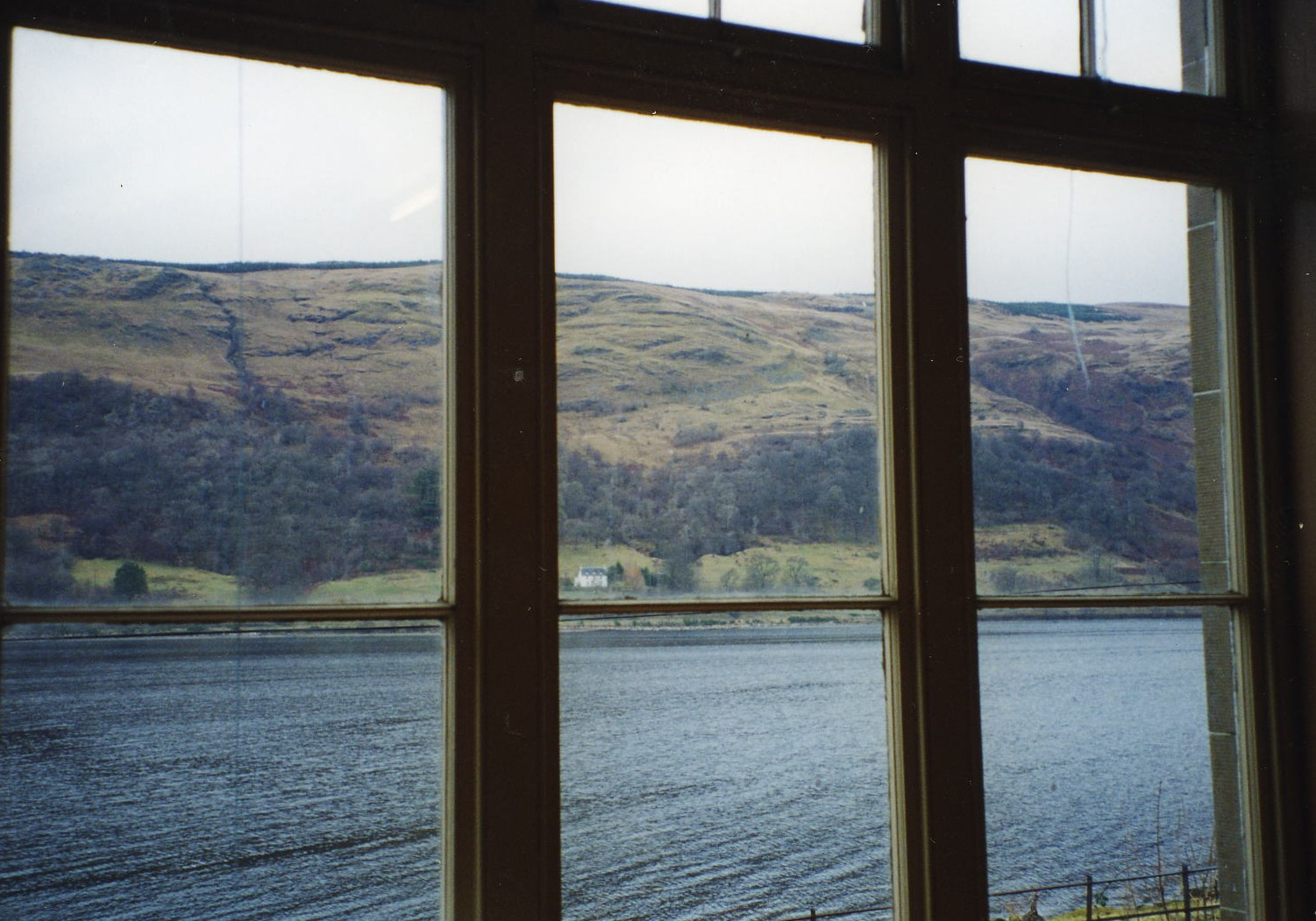 View from Cairndow Village Hall