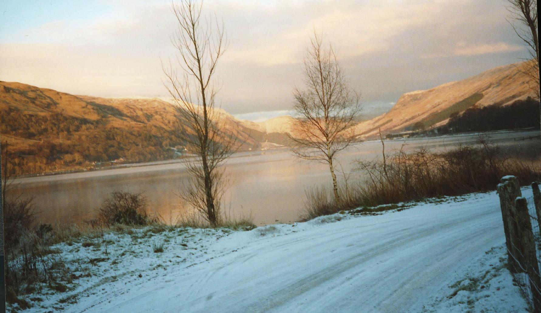 Cairndow in winter