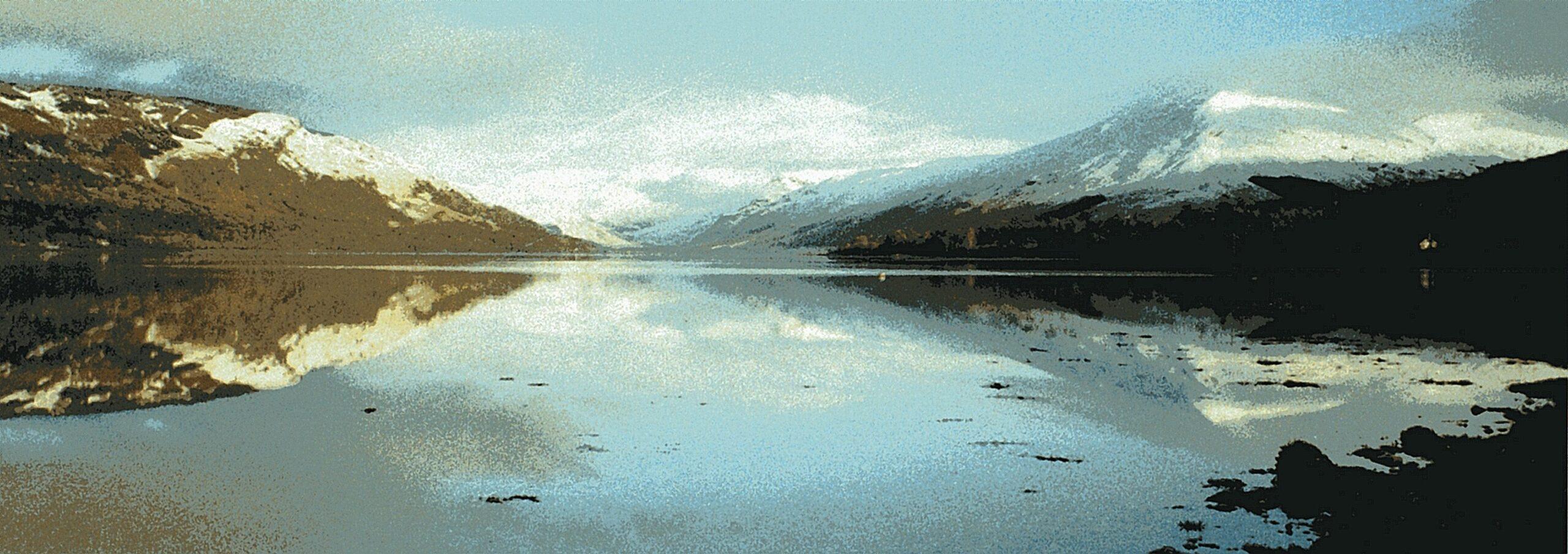Head of Loch Fyne in winter