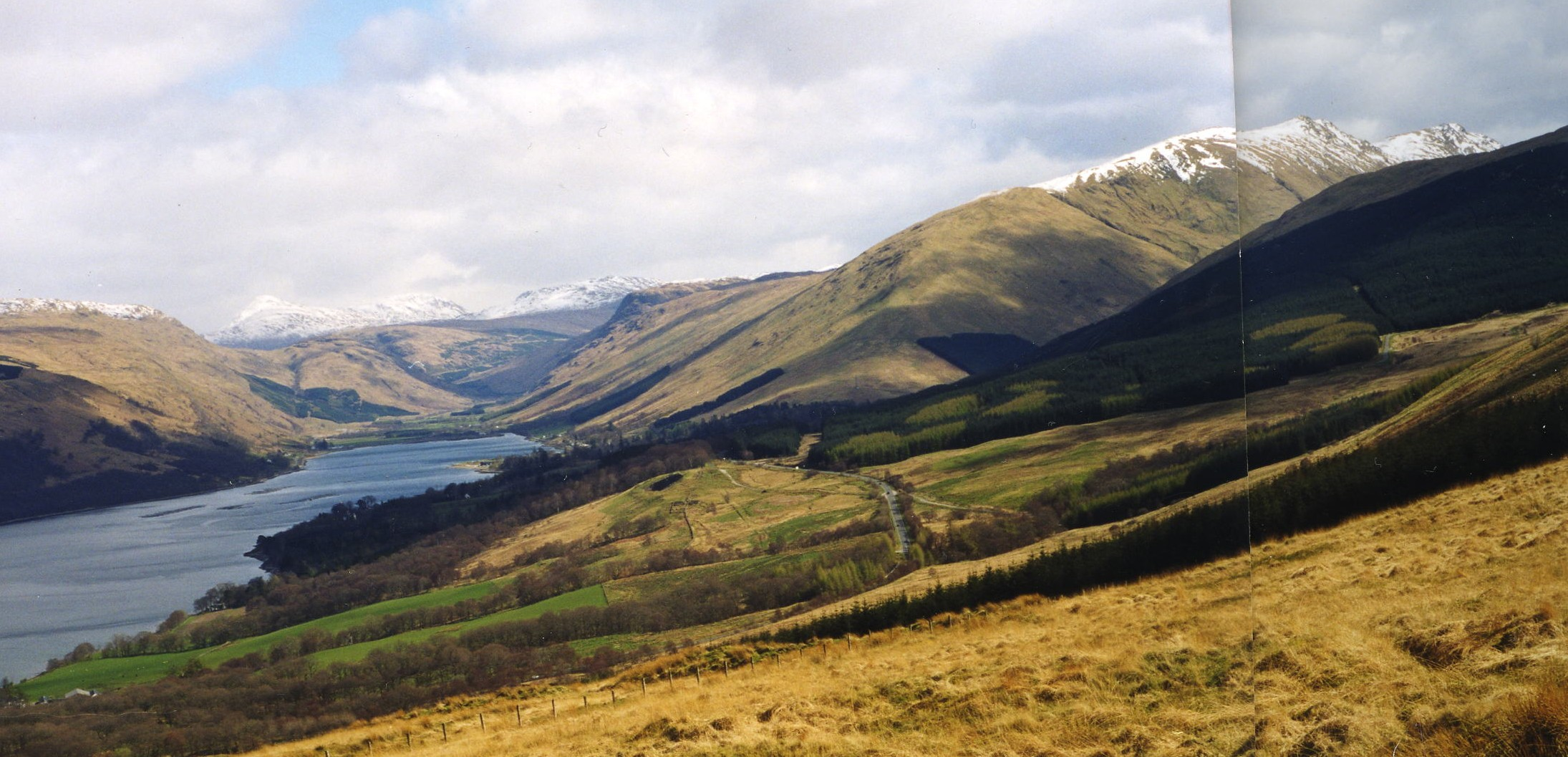 View from Laglingarton