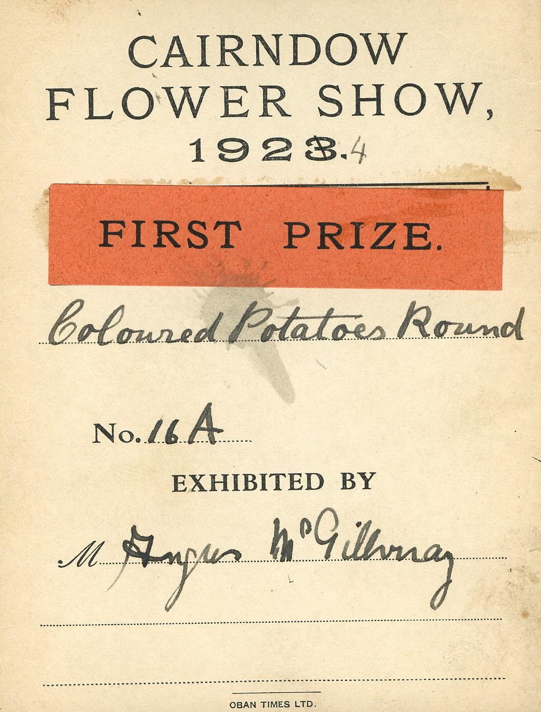 Flower Show Card