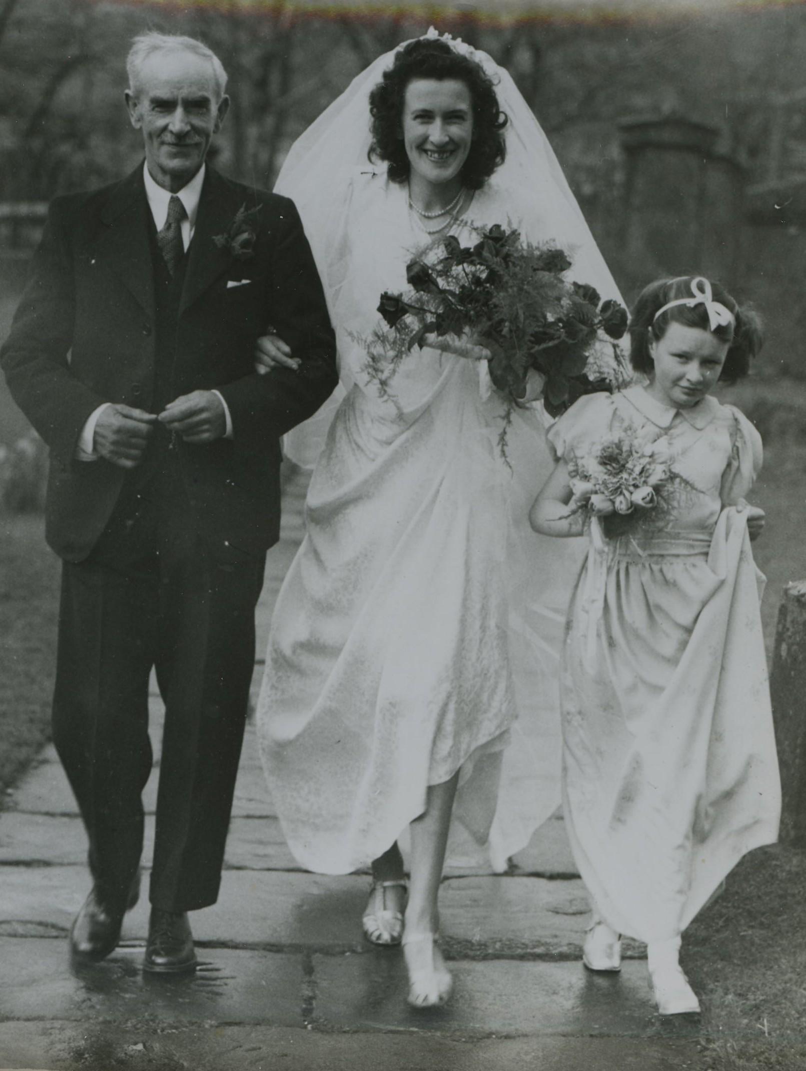 John Crawford & Christabel McVicar's Wedding