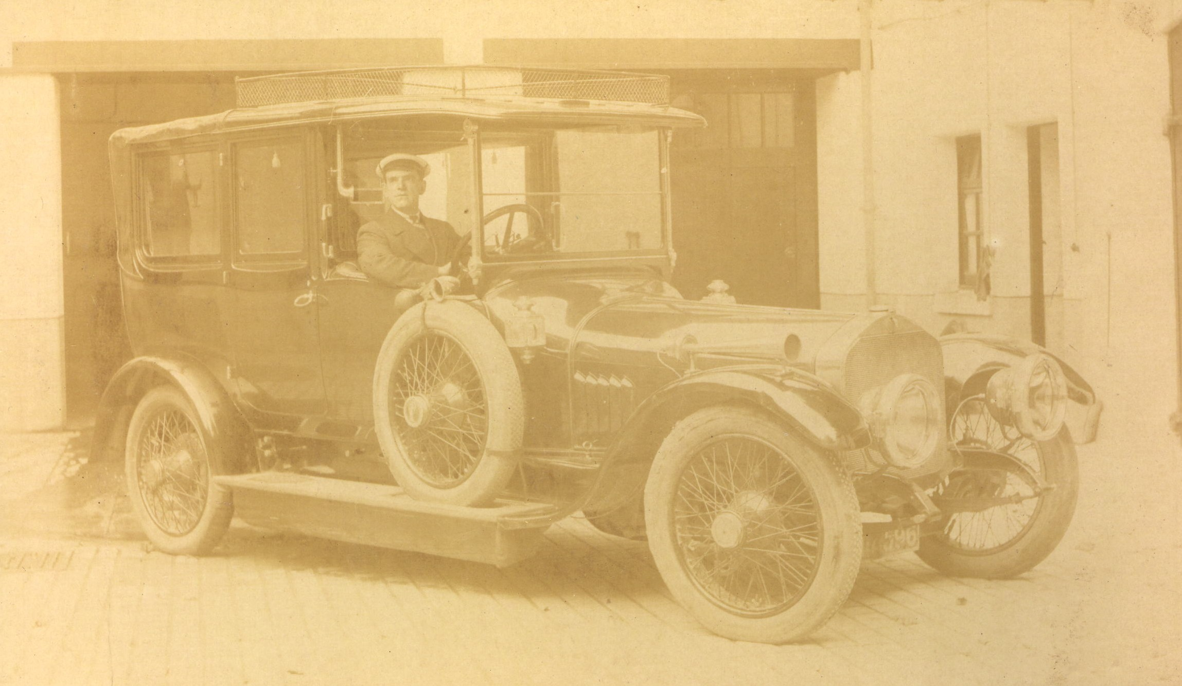 Car in garages at The Square