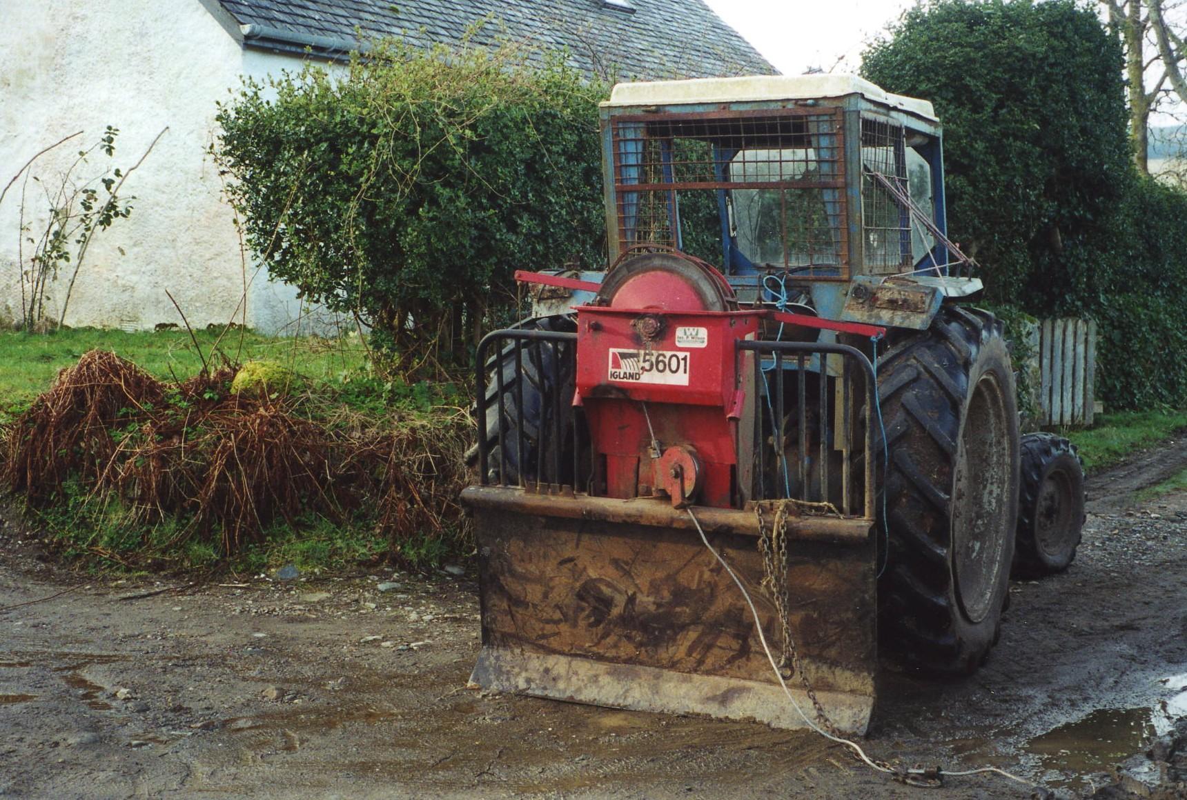 Oyster Farm Tractor