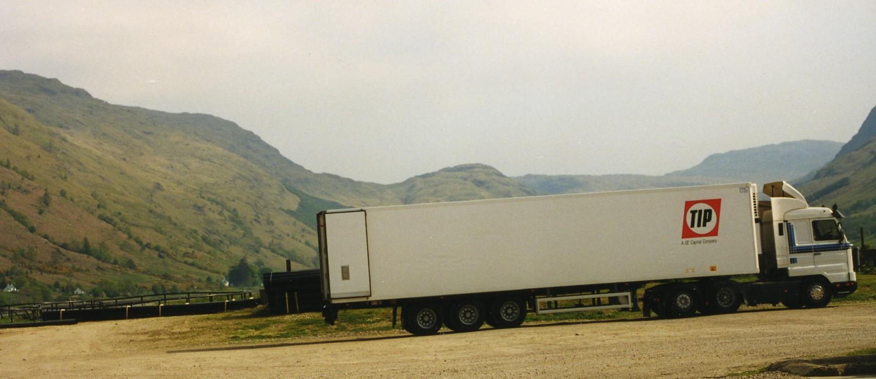 Lorry at Pan Fish