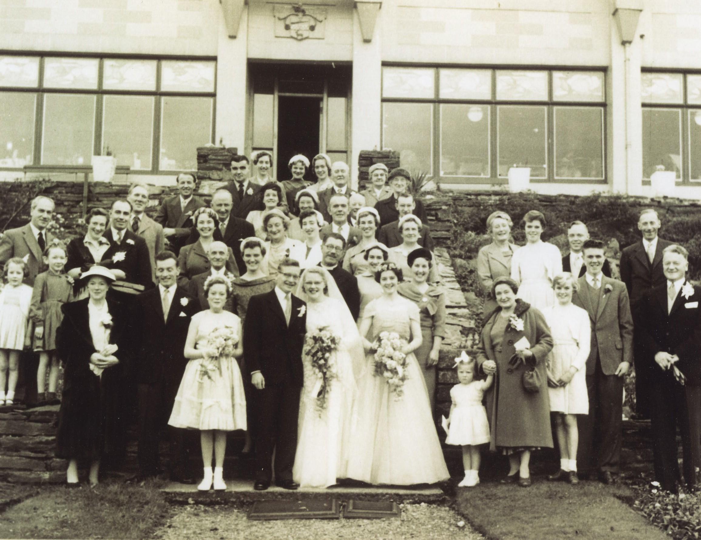 Ron Honeyman & Anne Maxwell's Wedding