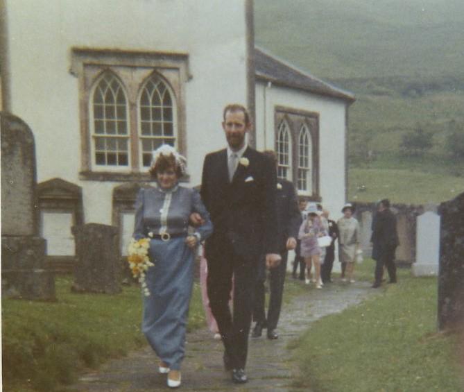 Iain Bell & Sheila Carmicheal's Wedding