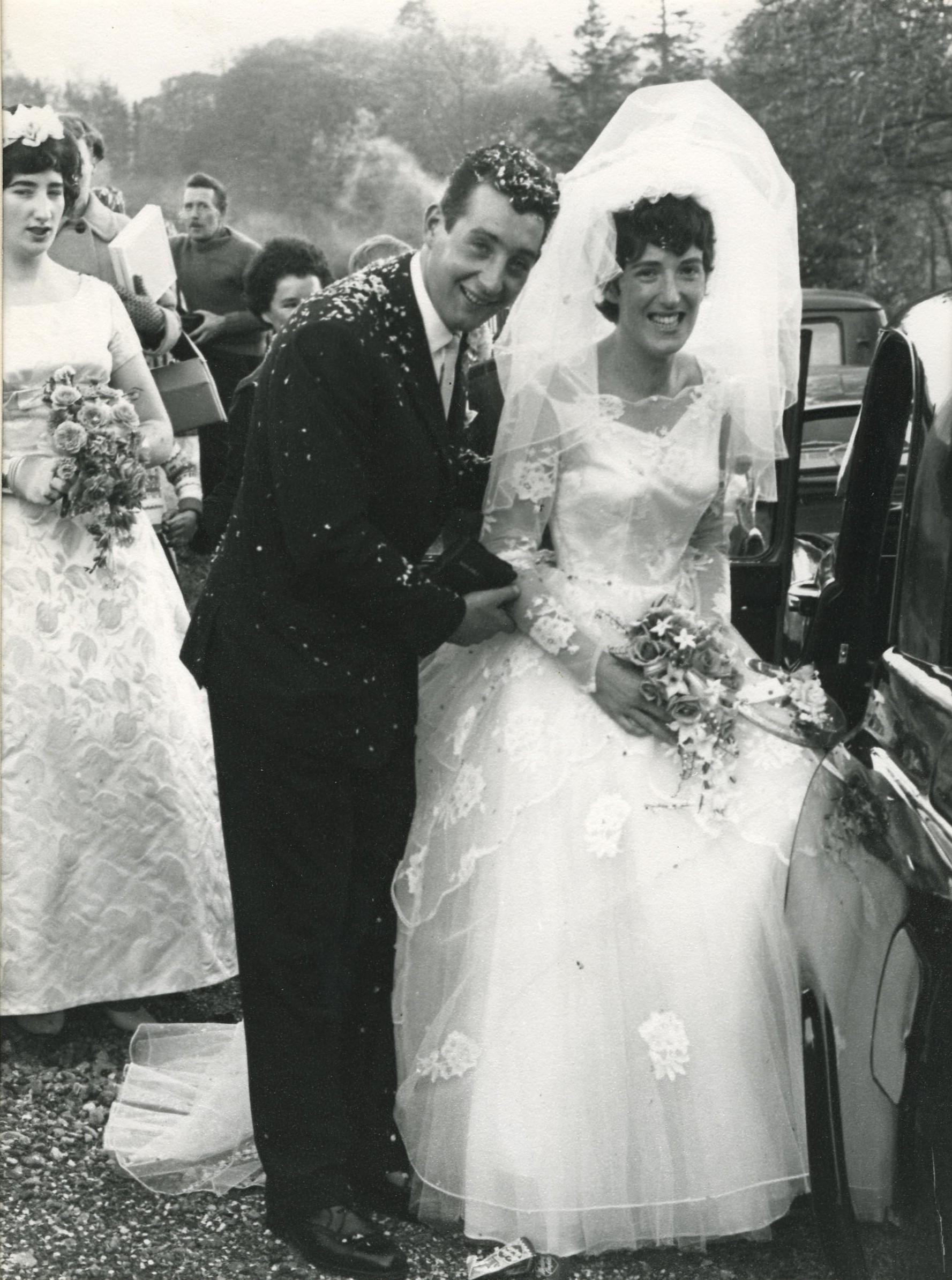 David MacKinnon & Netta MacPherson's Wedding