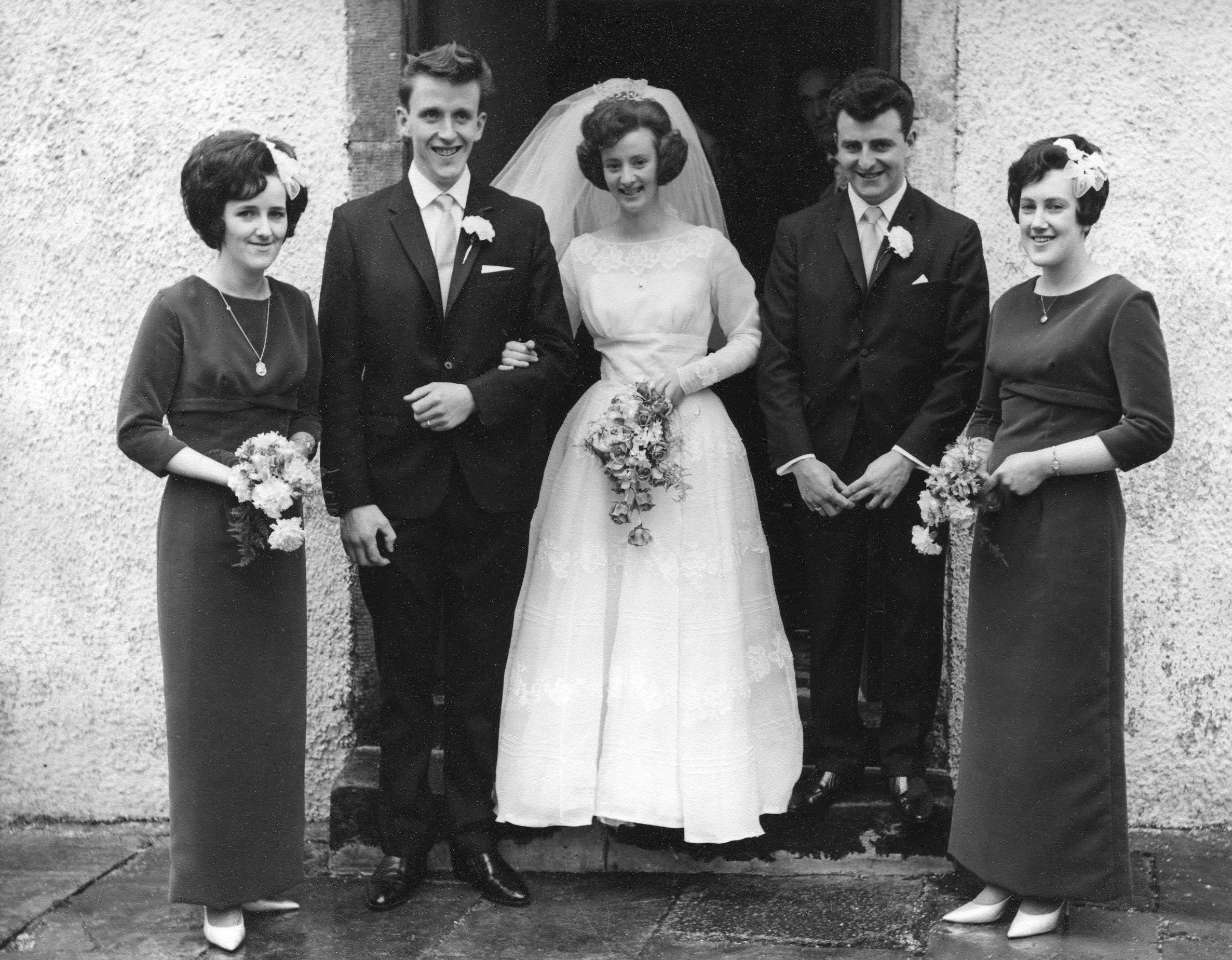 Ernie MacPherson & Irene Russel's Wedding