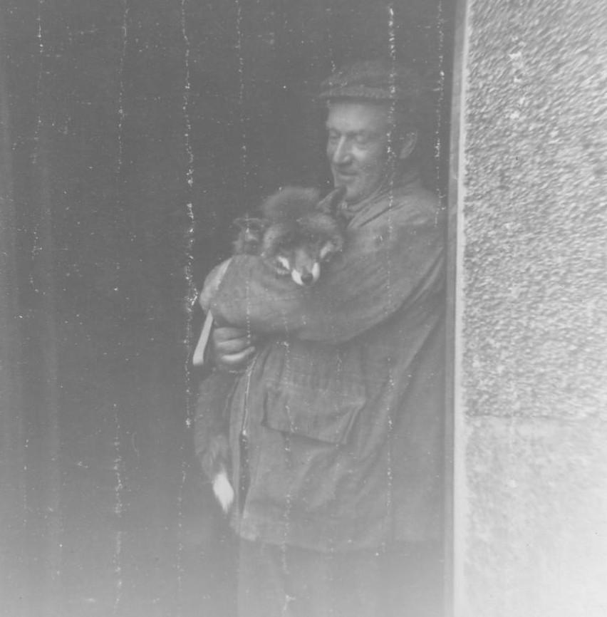 Willie Manson & Susie the fox