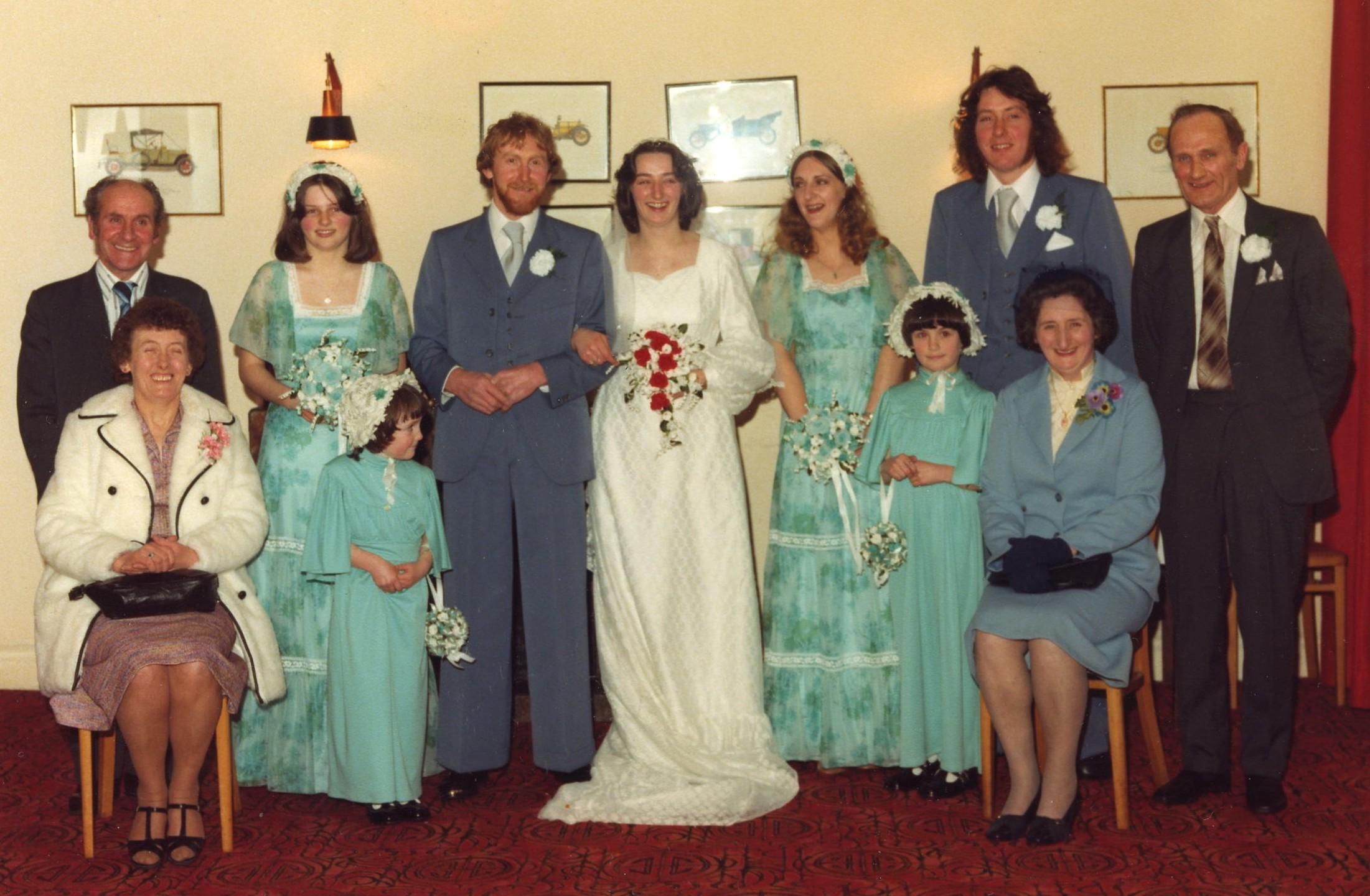 Rachel Beattie & Garry Grant's Wedding