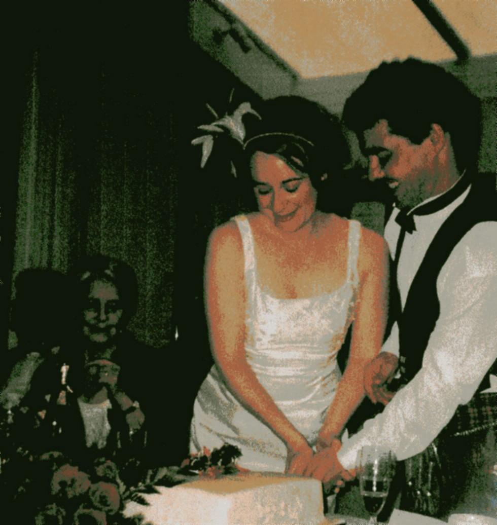 Isabelle Brodie & David Portedus Wedding