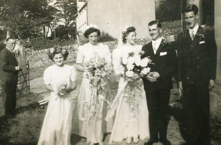 Douglas Luke & Rita Hubble'  Wedding