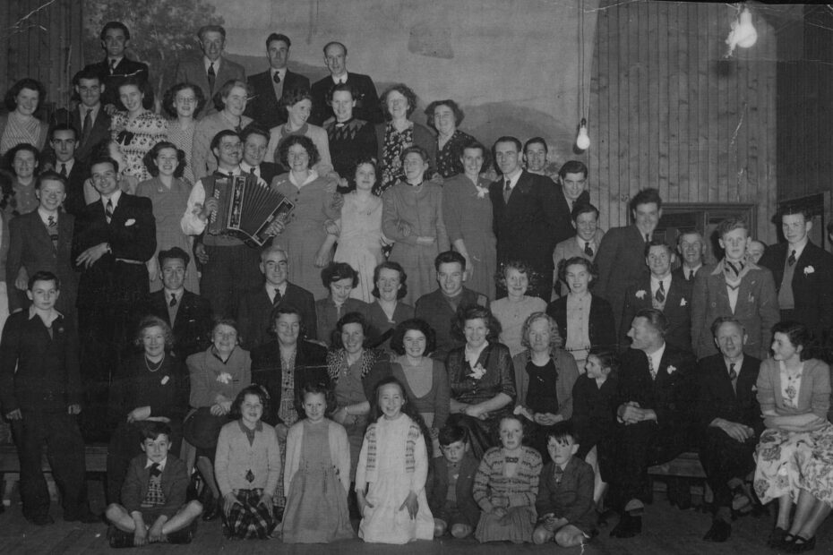 Anne and Bobby Callanders' wedding 1950