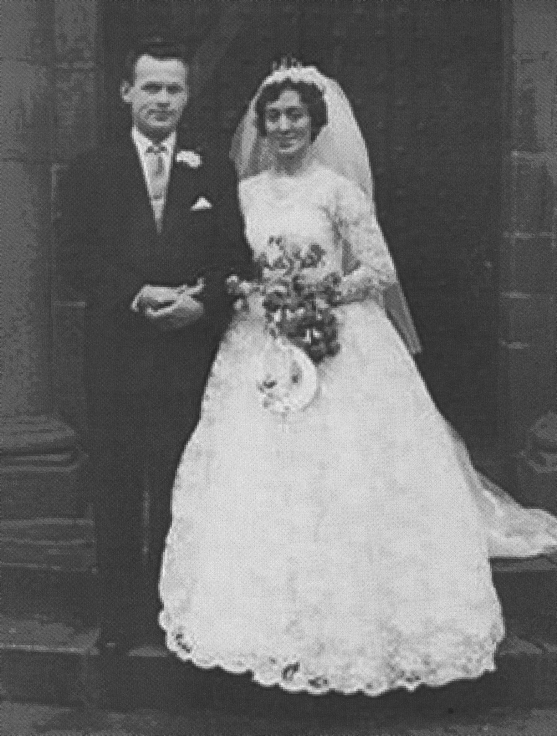 John MacDiarmid & Dorothy Bell's Wedding