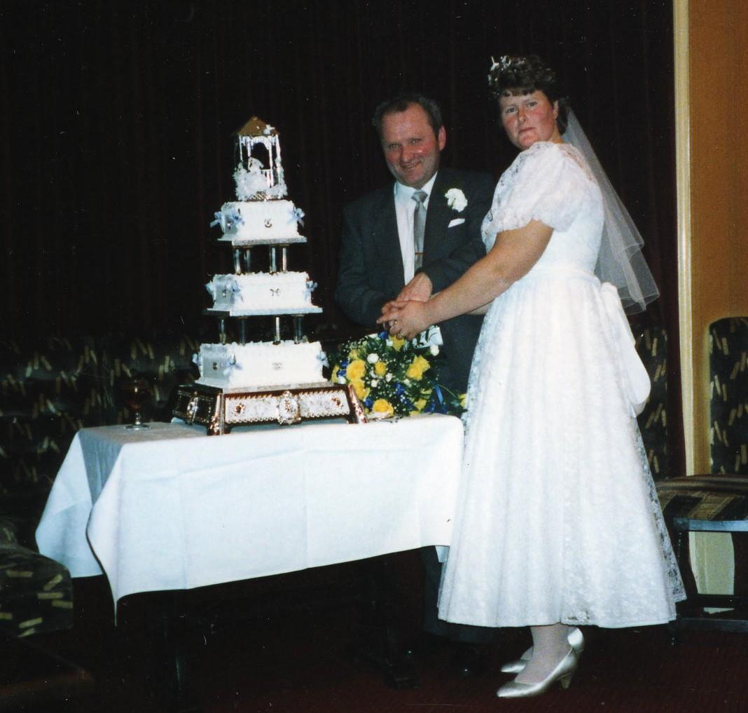 Angus MacDiarmid & Fay Cockburn's Wedding
