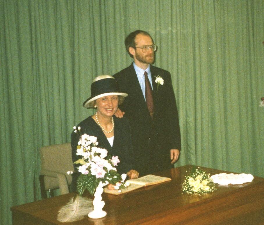 Alan Stewart & Kathleen MacDiarmid's Wedding