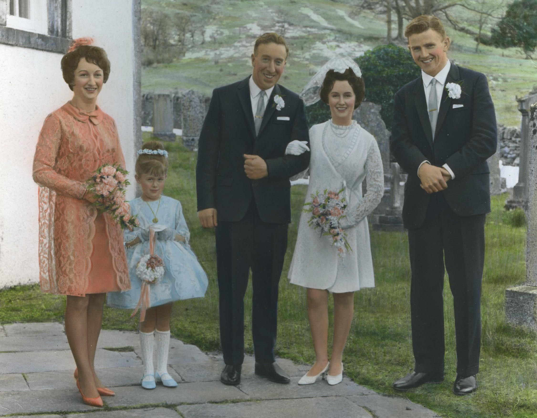 Johnny Baker & Margaret MacDiarmid's Wedding