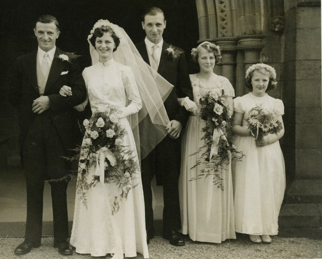 Ken Findlay & June Mitchell's Wedding