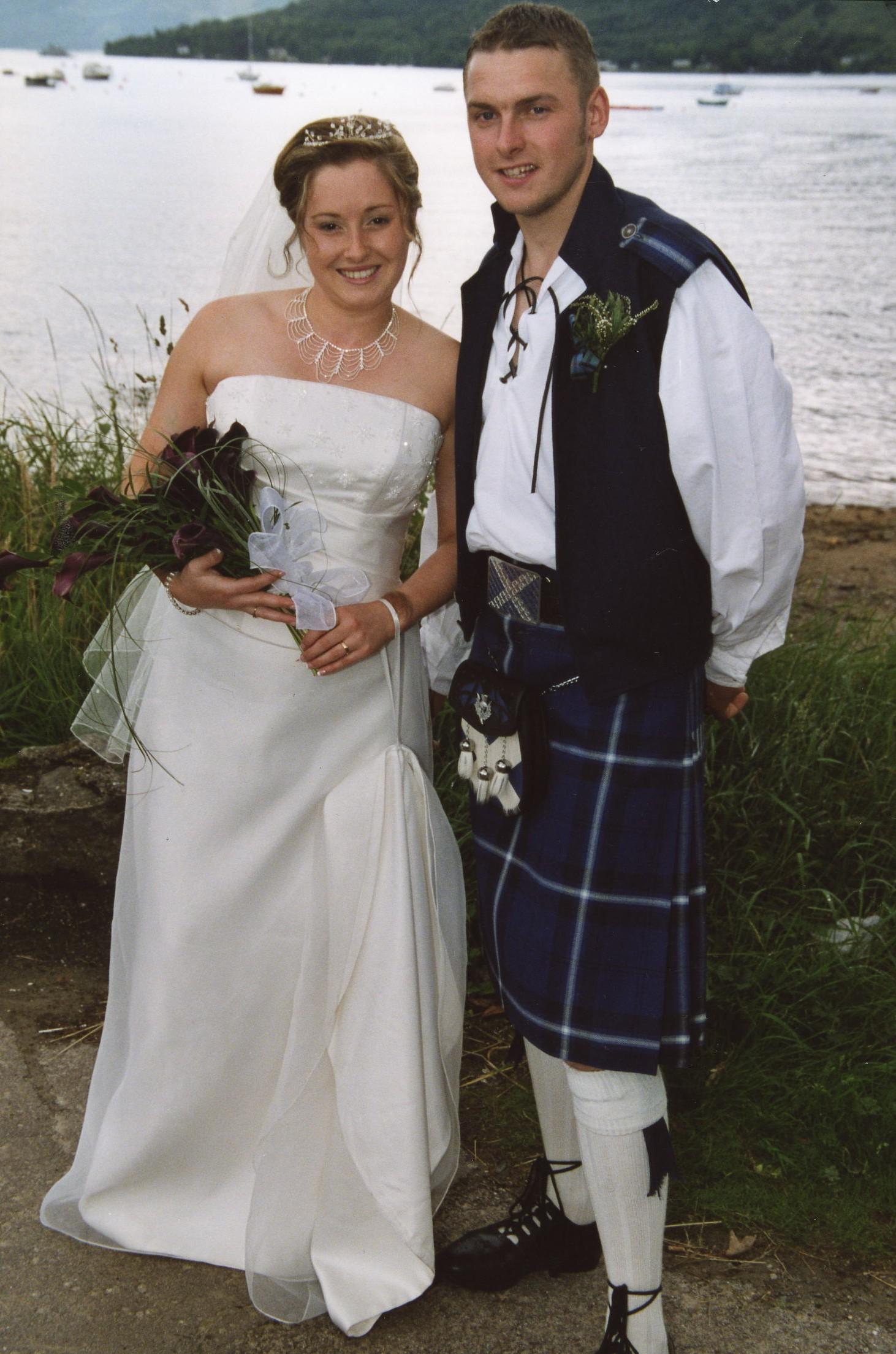 Jock Jackson & Lorraine Watson's Wedding