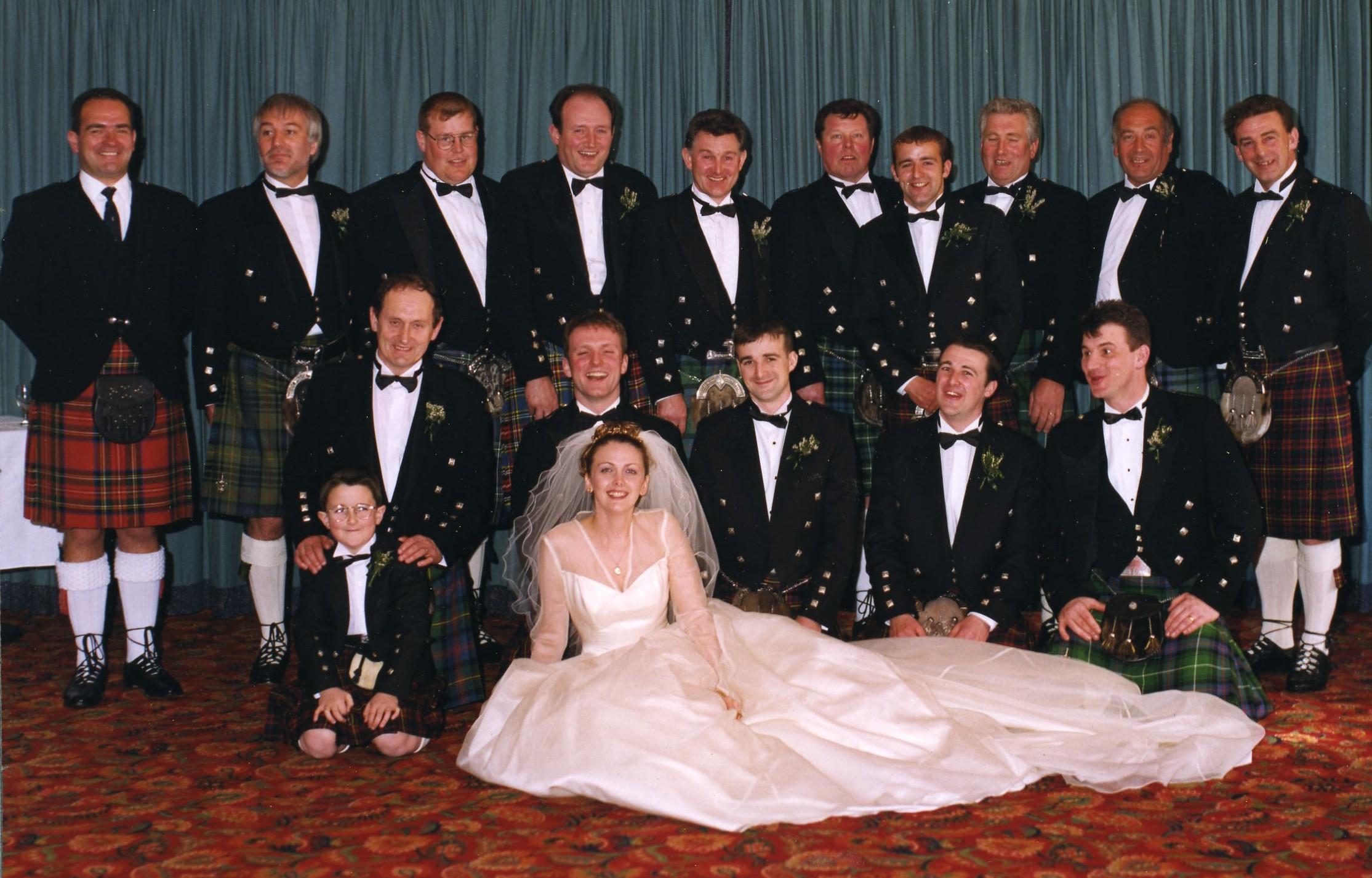 Gregor Cameron & Mandy Mason's Wedding