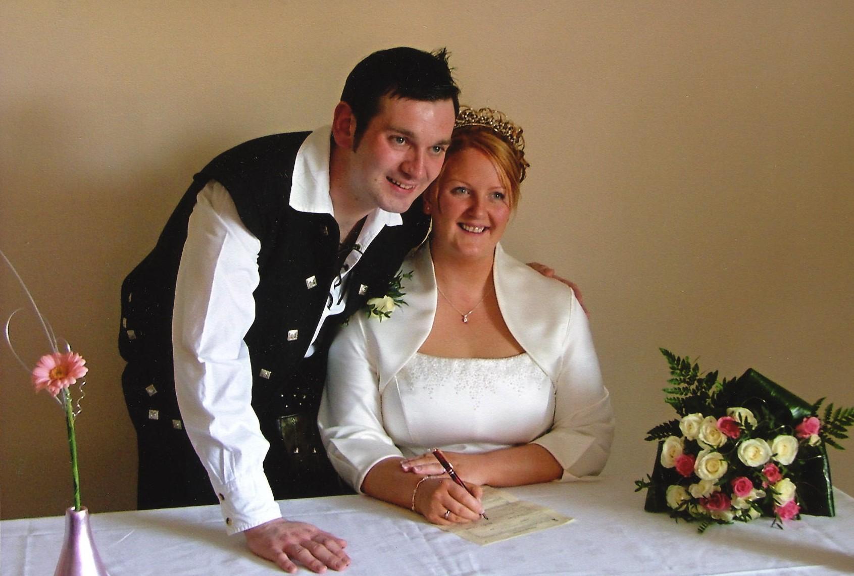 Stewart MacCallum & Ann Marie Sheilds Wedding