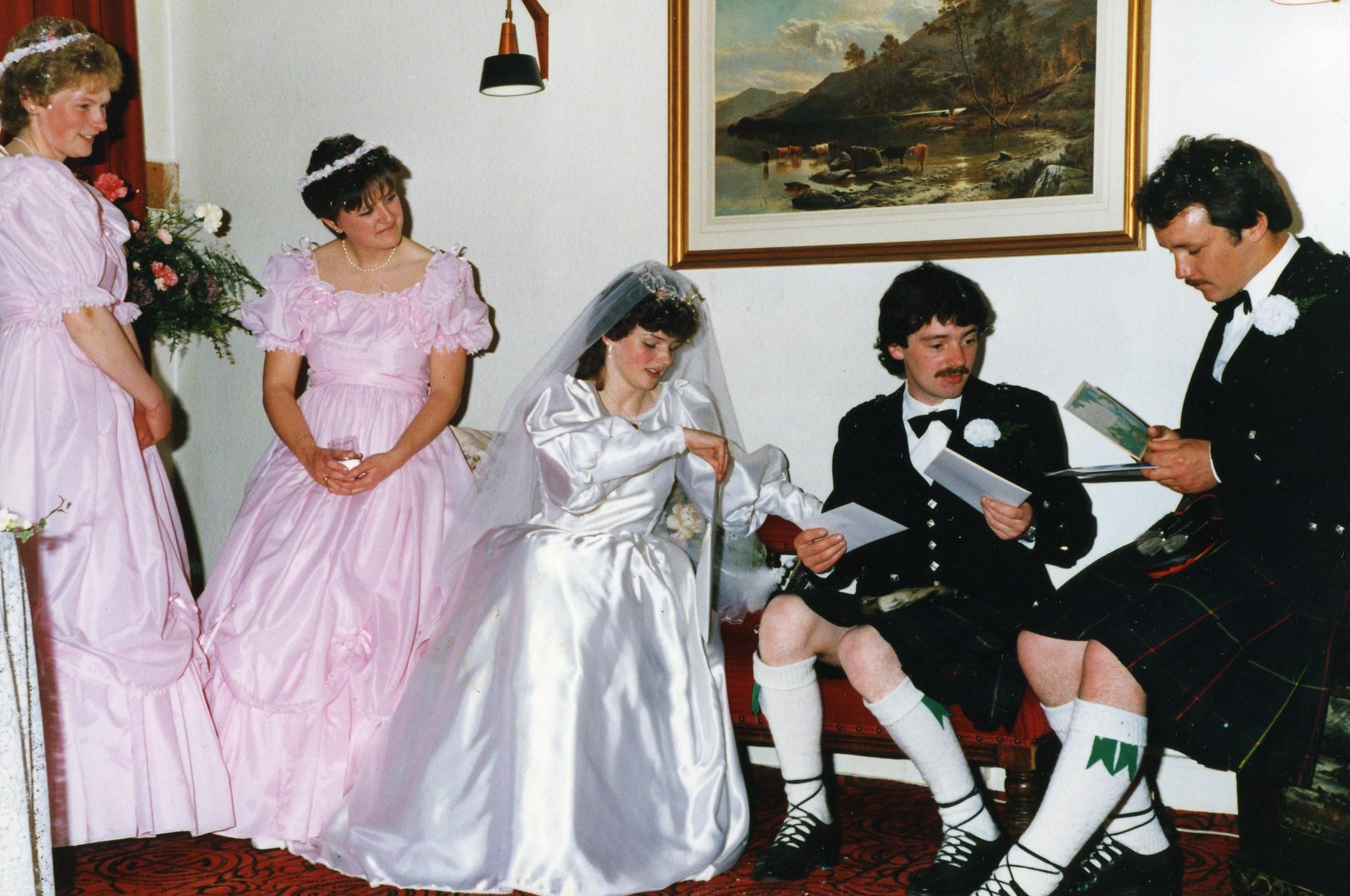 Paul Chalmers & Dot Beattie's  Wedding