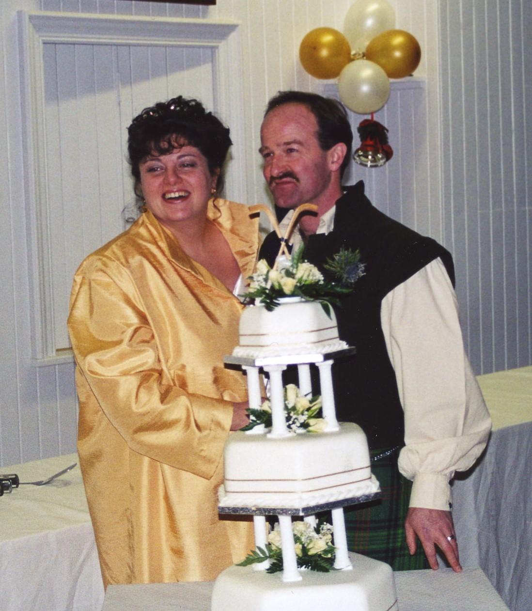 Duncan Crawford & Rhona Cocker's Wedding