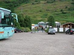 Car Park at Loch Fyne Oysters