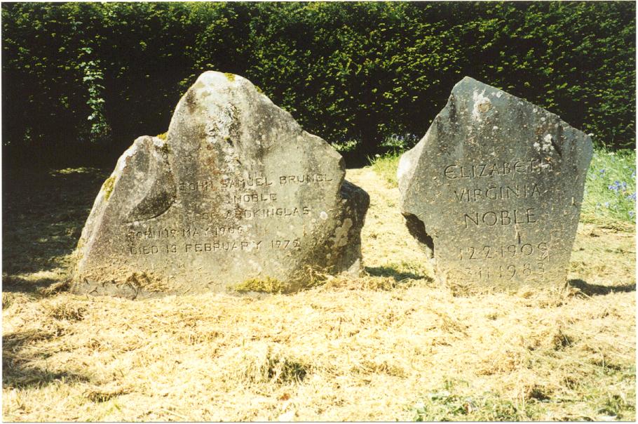 John & Elizabeth Noble's Gravestones
