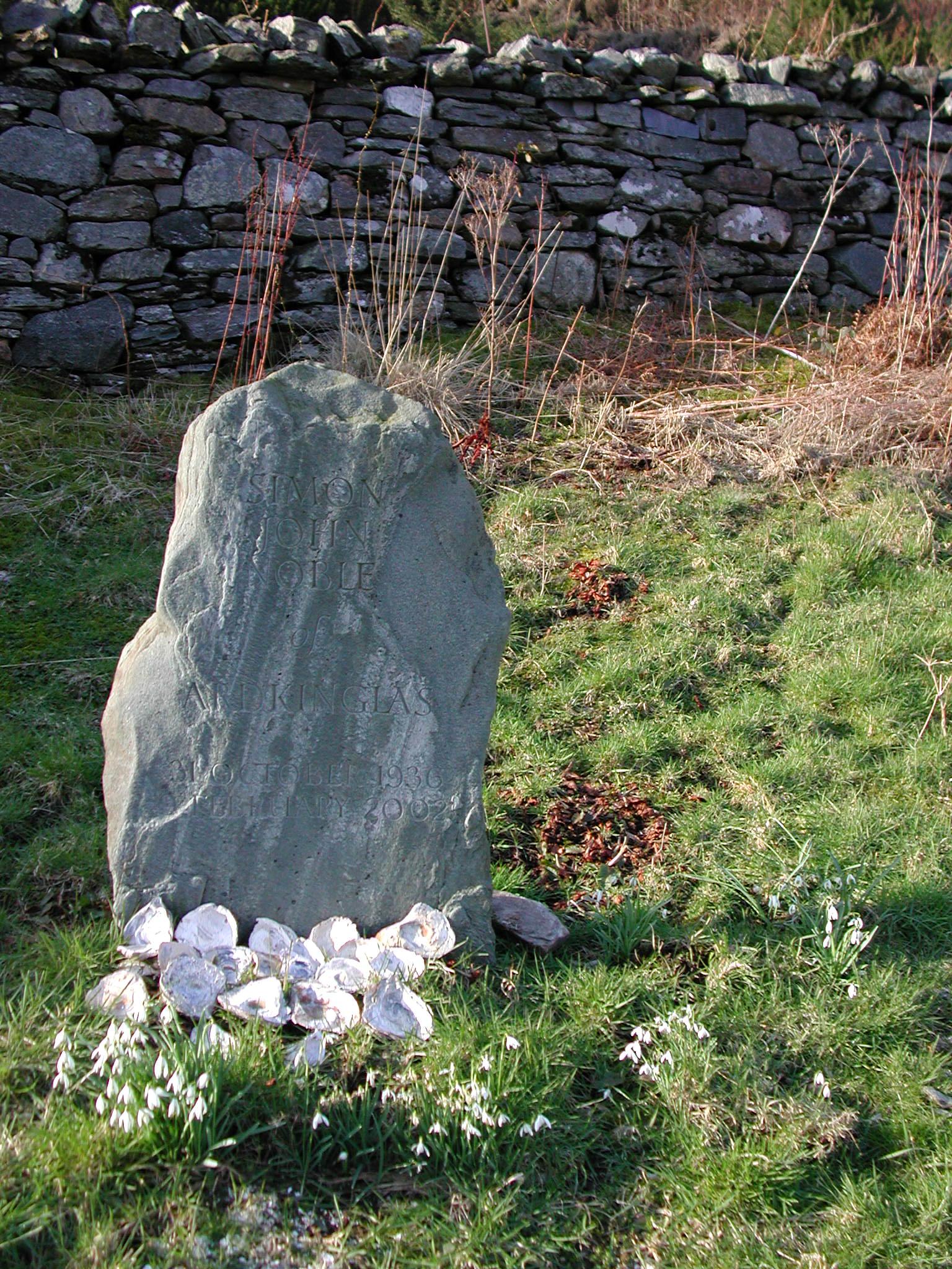 S J Noble's Gravestone