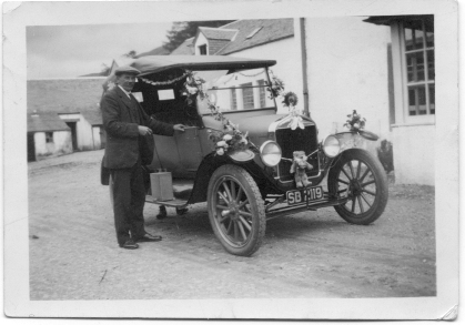 Tommy Jones with new car