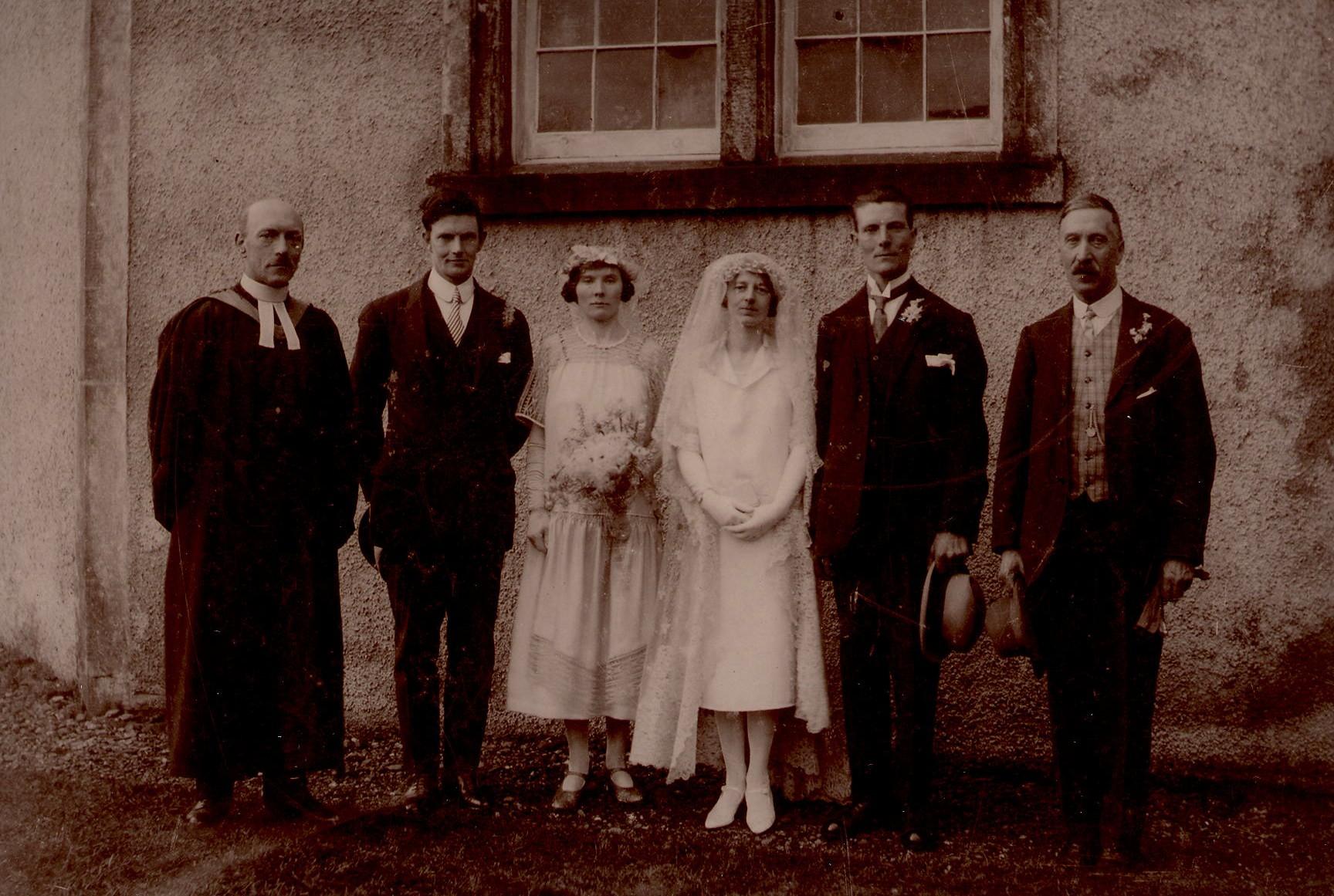 May Amos & Angus McGilvary's Wedding