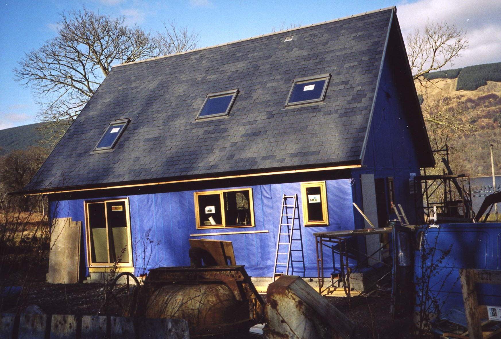 John MacDonald's new house.