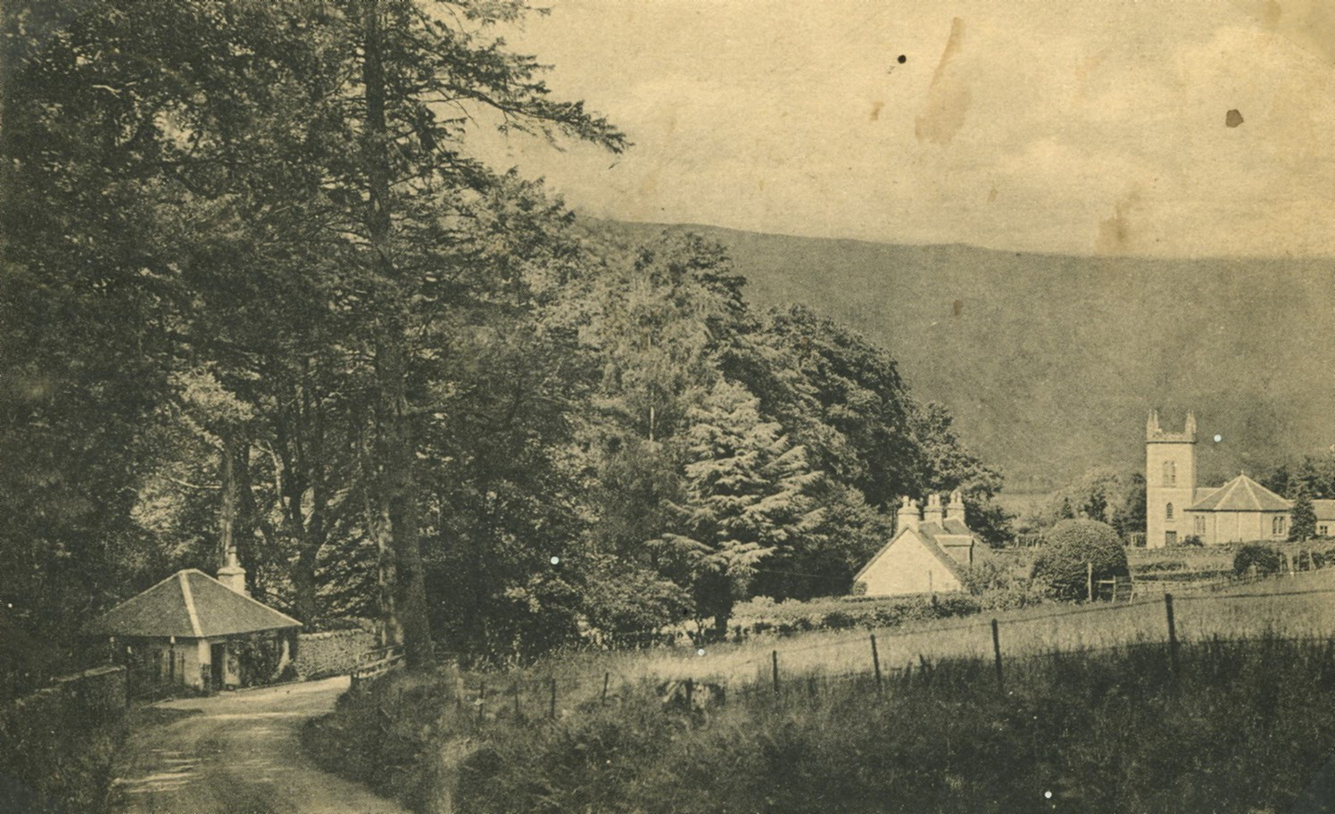 North Lodge at Estate Entrance