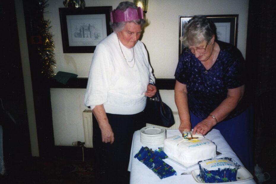 SWRI 50th Birthday cake