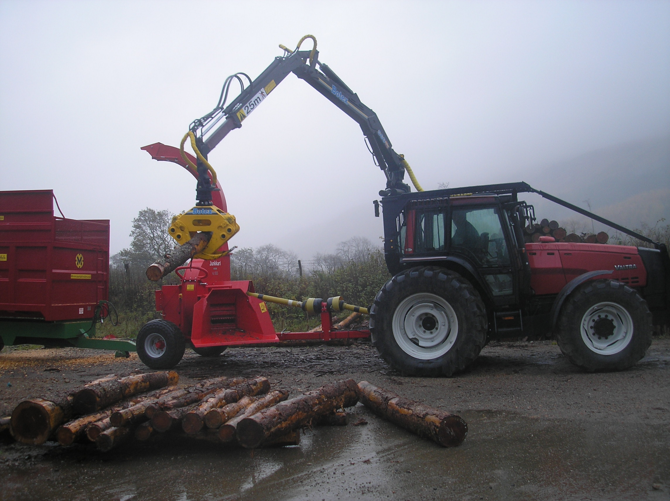 Chipping Plant Opening