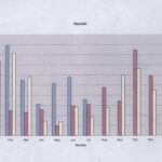 Graph of rainfall from 2000 - 2002