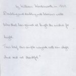 William Wordsworth comment on The Rest And Be Thankful