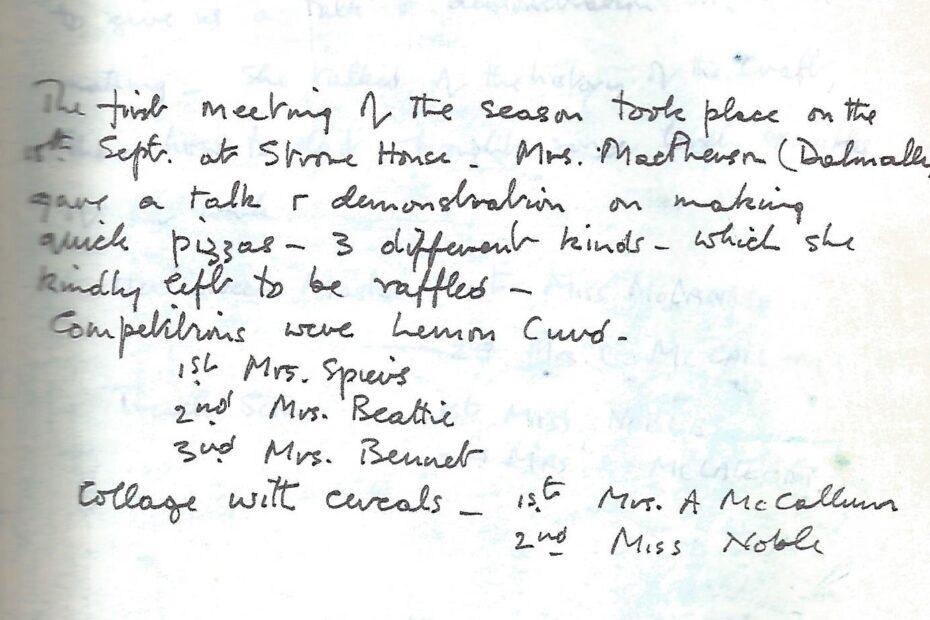 Press Secretary's Report 1985