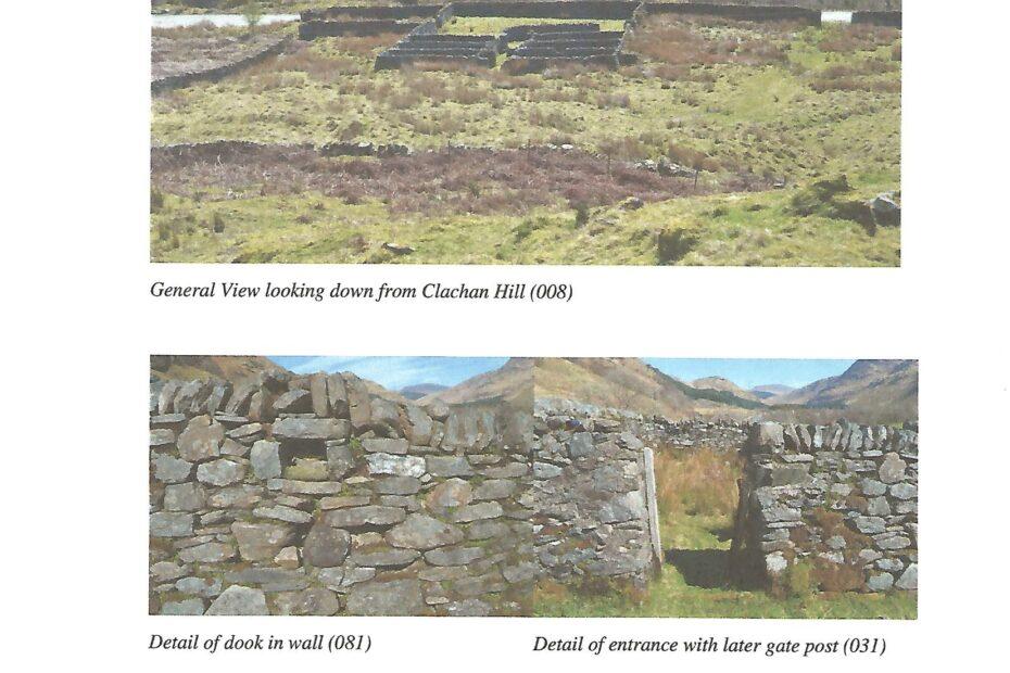 Shepherding on Ardkinglas Estate - Fanks - Site Record